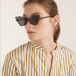 Karen Walker Mrs. Brill 53mm Cat Eye Sunglasses